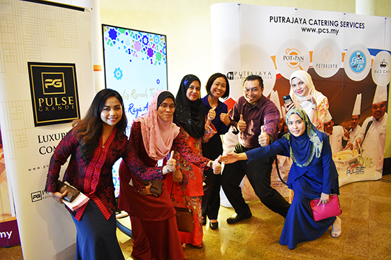 Aidilfitri Open House by PULSE Group and Co-X at PICC, Putrajaya