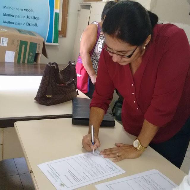Vice-prefeita Josefa Lindalva toma posse como prefeita de Ribeirão