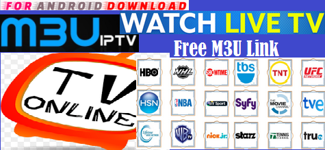 FOR ANDROID DOWNLOAD: LiveTV Free M3u IPTV Cable Channel Link Watch