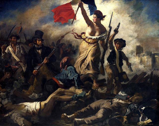 Libertad guiando al pueblo – Delacroix