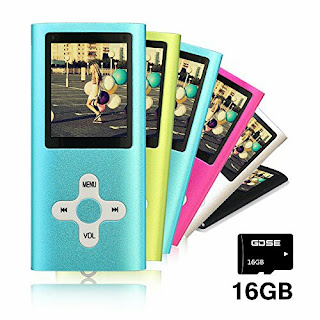 Goldenseller 16GB Mp3/Mp4 Music Video Player