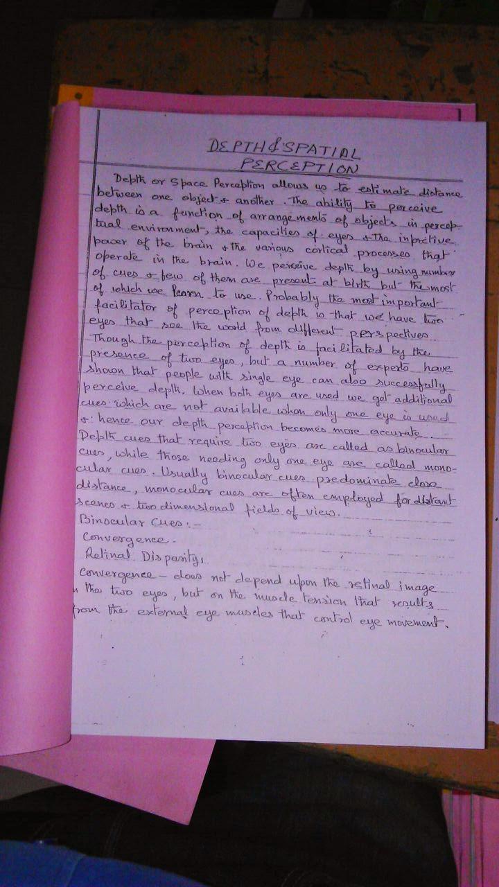 psychology notes in hindi pdf