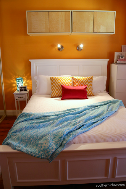 Bright and Beautiful Bedroom Makeover - Bedroom Makeover without Painting on a Budget - How to Create Your Own Unique Home Decorating Style