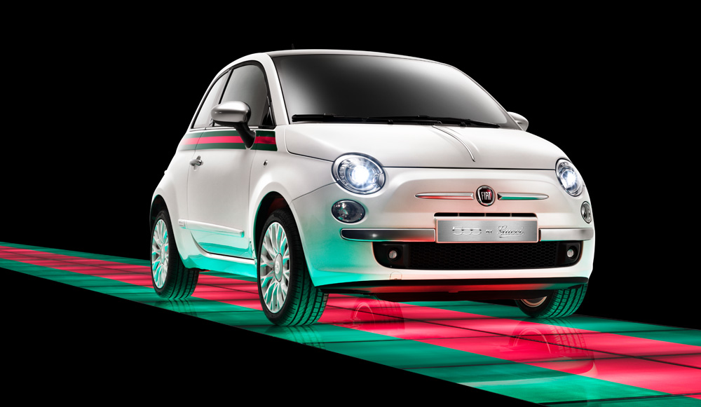 1f2fd8e19281 Fiat 500 by Gucci - Feel Desain | your daily dose of creativity