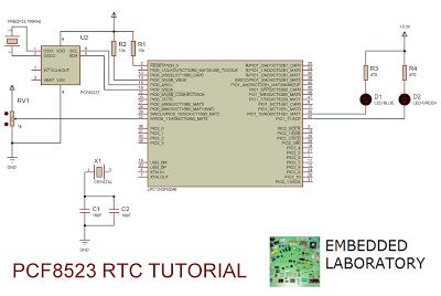 Interfacing RTC PCF8523 with Cortex-M3 - Embedded Laboratory