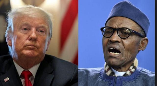 Buhari,Trump