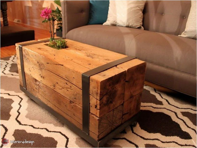 wooden tables for the living room 11