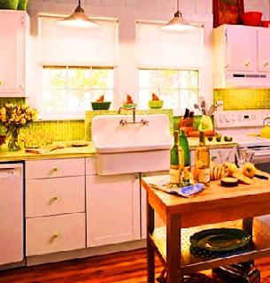 Dapur Dengan Sentuhan Vintage