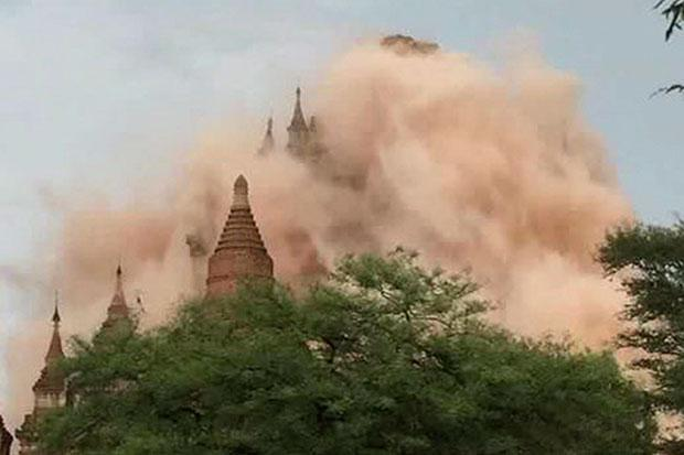 Myanmar quake damages 60 pagodas