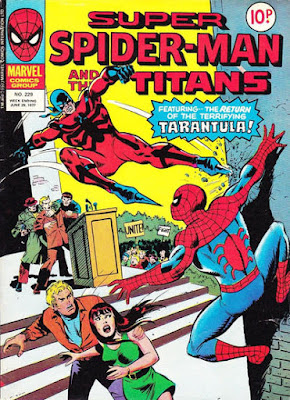 Super Spider-Man and the Titans #229, the Tarantula