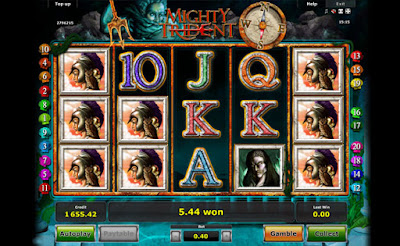 mighty trident free video slot by Novomatic