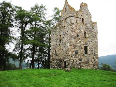 Knock Castle, near Ballater, Deeside