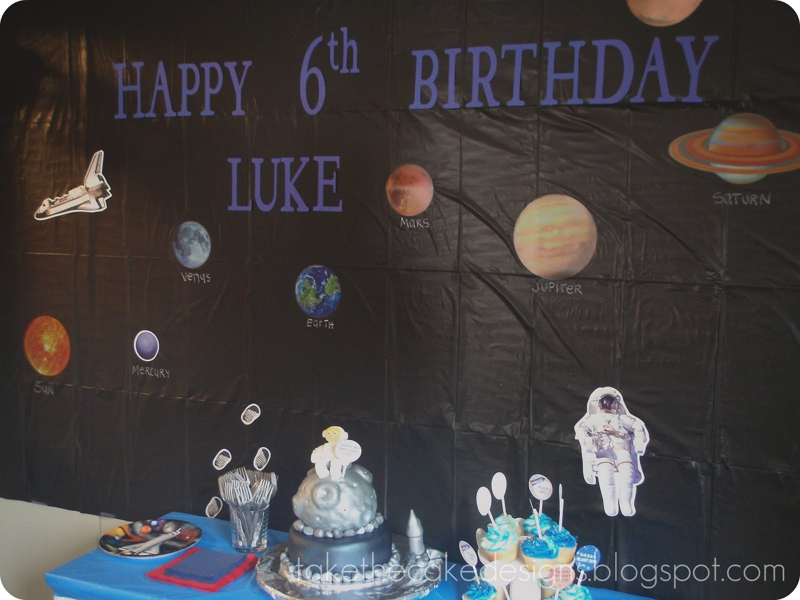 Takes the Cake: Astronaut in Space Birthday
