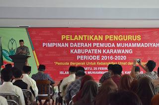 Pengurus Pemuda Muhammadiyah di Lantik