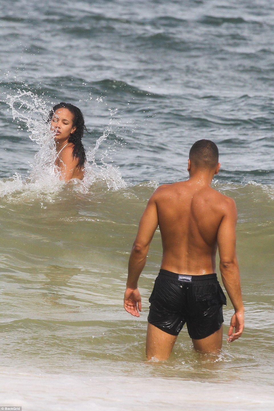Younes Bendjima pack on the PDA with bikini-clad model who dated Tyga after Kylie Jenner