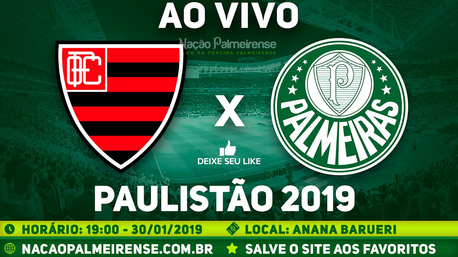 Assistir Oeste x Palmeiras Ao Vivo