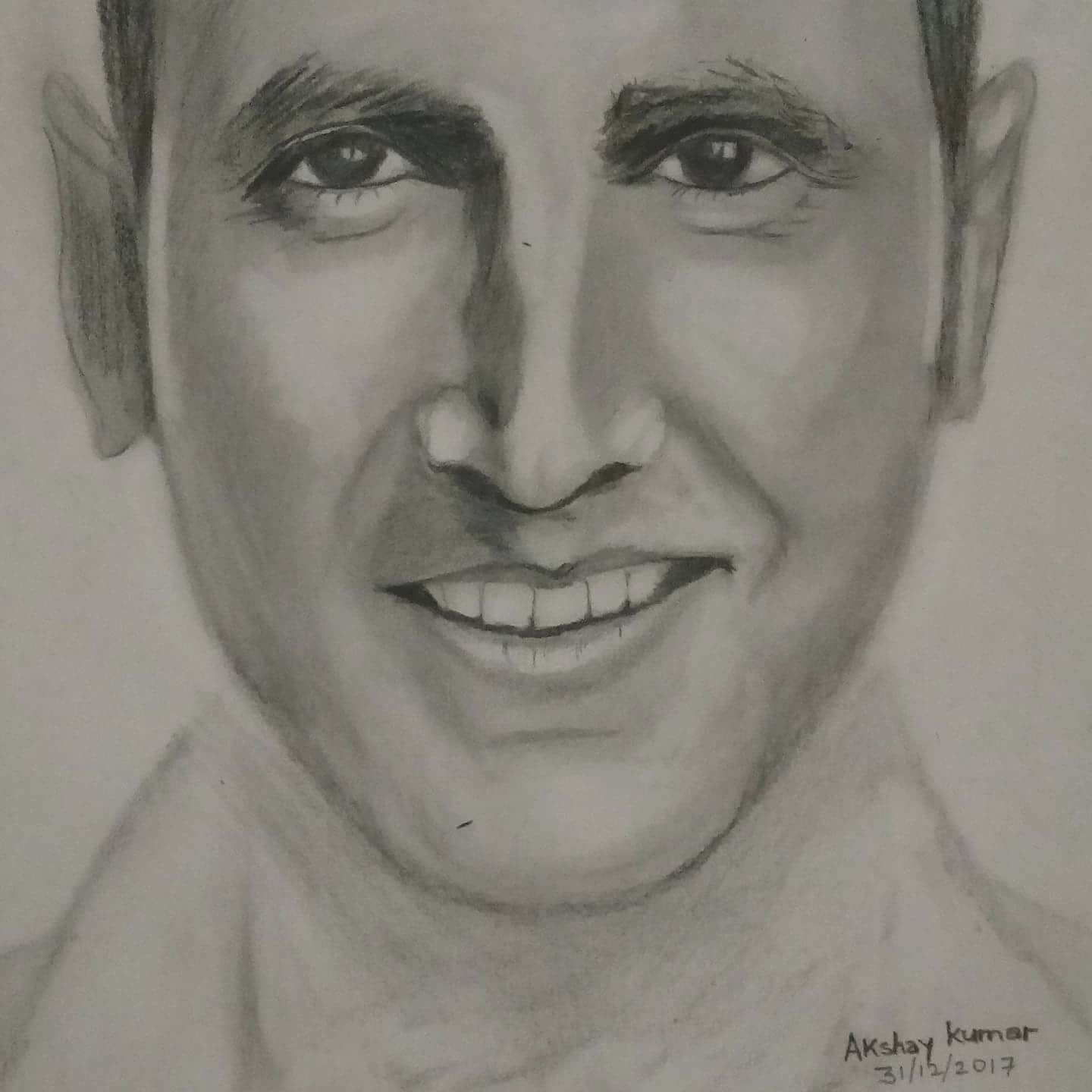Akshay kumar drawing pencil drawing of actor akshay kumar