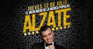 Concierto de Lanzamiento de ALZATE en Bogotá