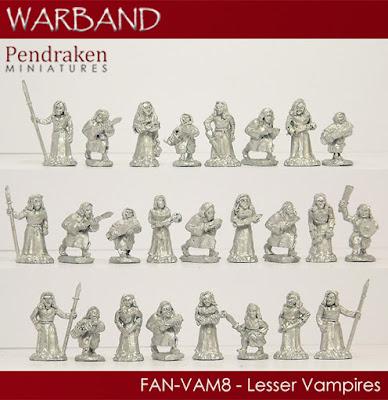 FAN-VAM8   25 x Lesser Vampires