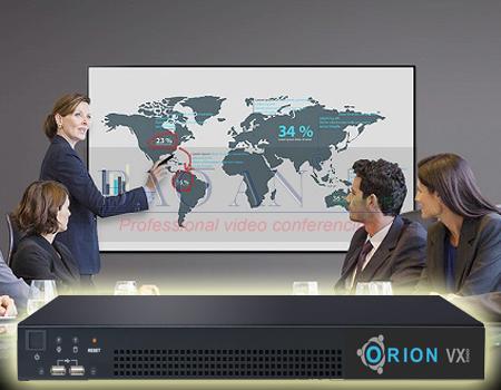 Giải pháp hội nghị truyền hình với MCU Orion