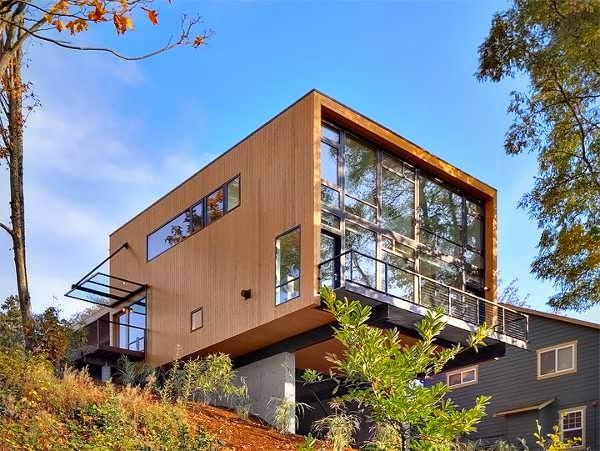 SEATTLE AUTUMN MODERN, MINIMALIST HOME DESIGN SURROUNDING