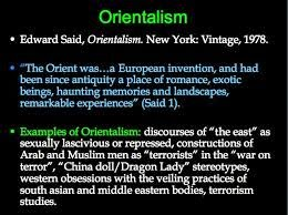 Edward Said: Orientalism – summary