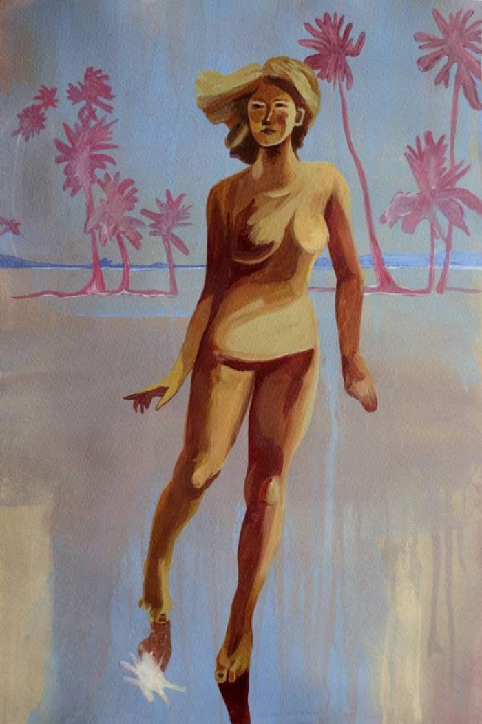 Молодая украинская художница. Oksana Reznik