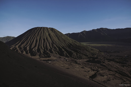 Foto dan BTS Shooting di Bromo with Sony a6300 Part 1