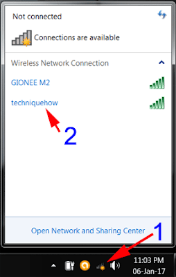 connect hotspot to PC