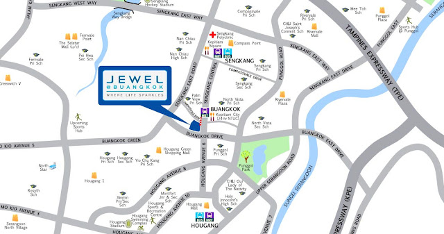 Jewel @ Buangkok Location
