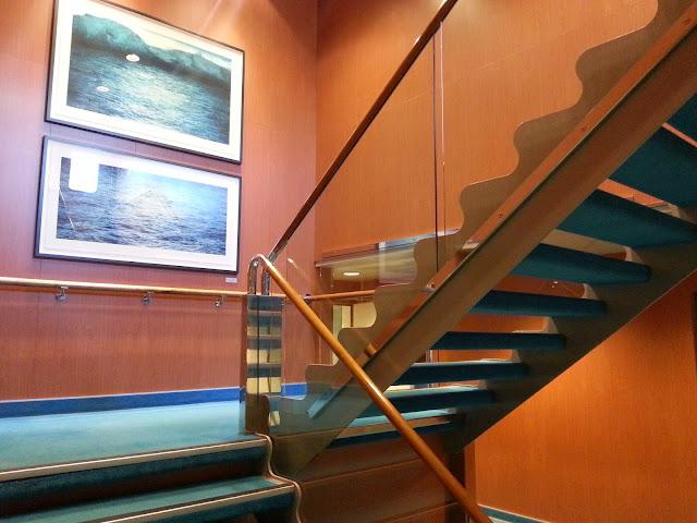 Hurtigruten MS Trollfjord - Stairwell