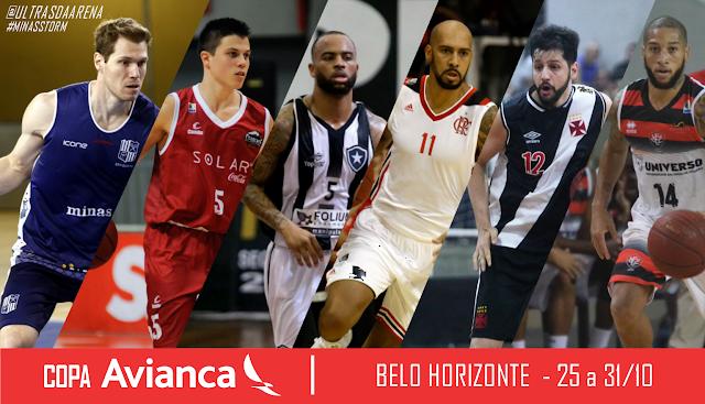 Minas, B Cearense, Botafogo, Flamengo, Vasco e Vitória estarão na Copa Avianca
