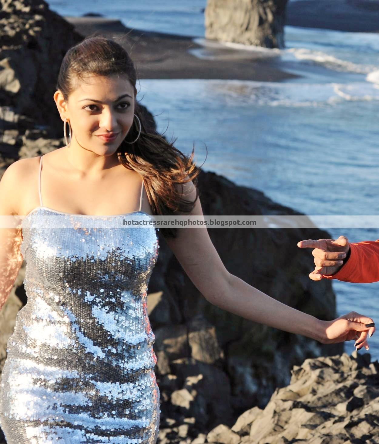 Hot Indian Actress Rare Hq Photos South Actress Kajal -1242