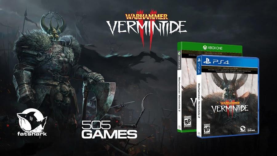 warhammer vermintide 2 retail ps4 xbox one 505 games fatshark