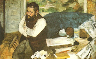 """Retrato de Diego Martelli"", Edgar Degas"