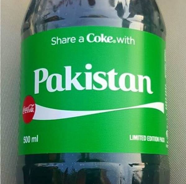 Coca Cola goes Green to pay Tribute to Pakistan Limited Edition