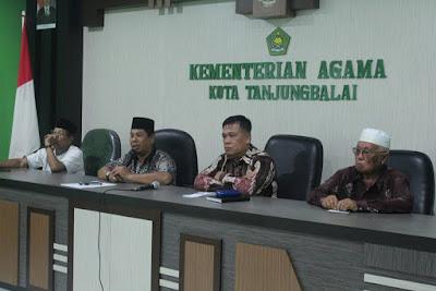 Pasca Kerusuhan, Kemenag Tanjungbalai Gelar Rapat