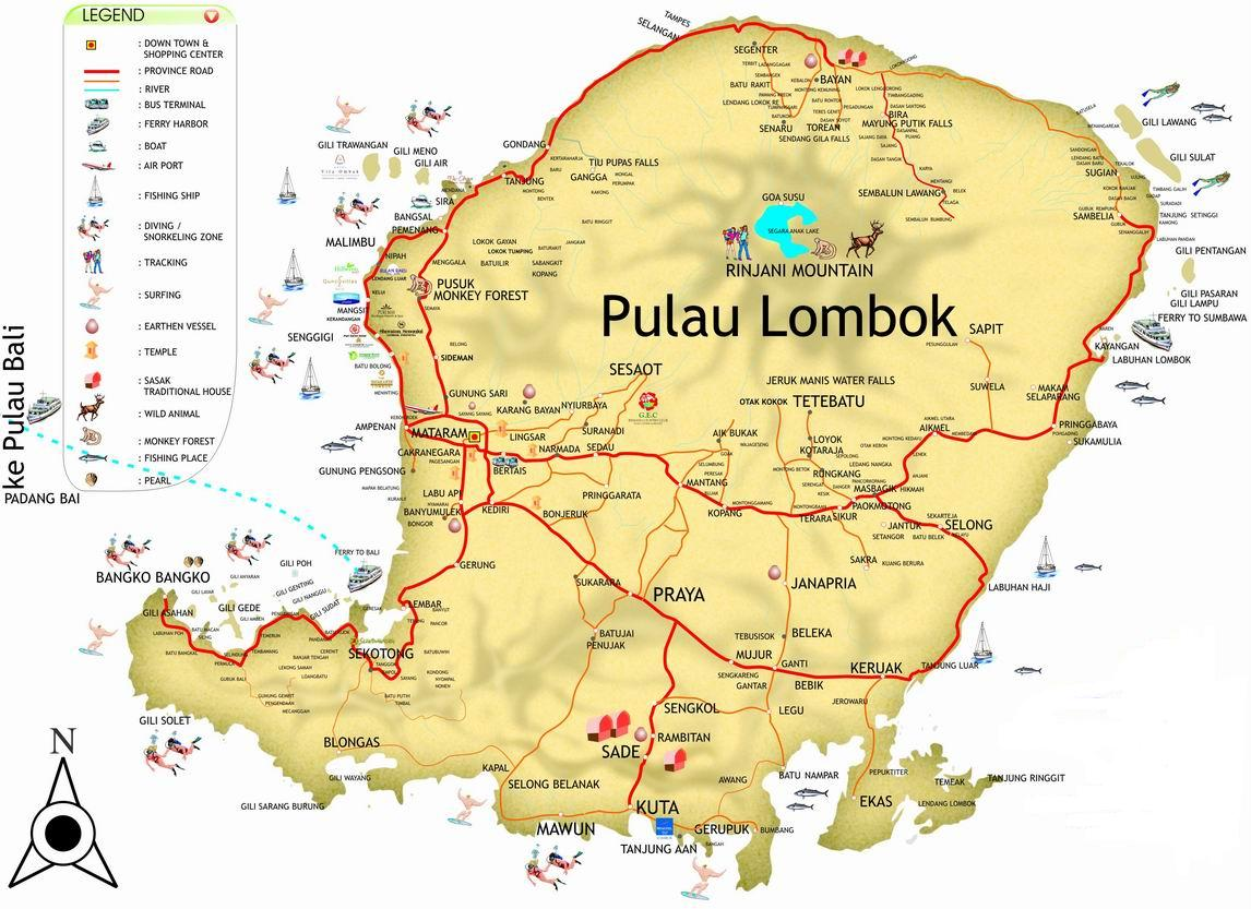 Daftar Tour & Travel Agent Di Lombok