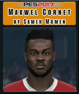 PES 2017 Faces Maxwell Cornet by Sameh Momen