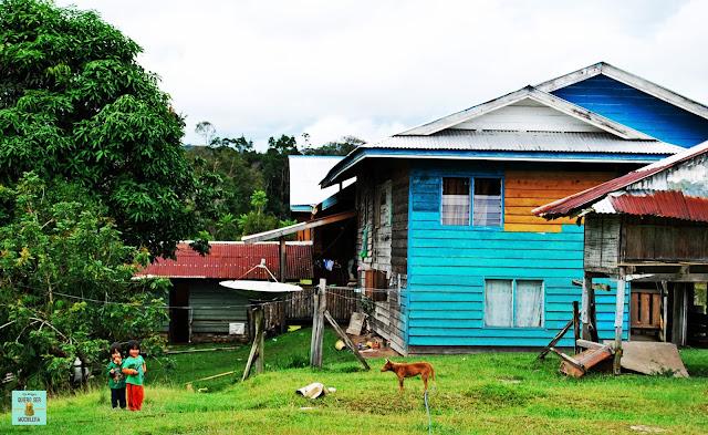 Pa Lungan (Kelabit Highlands), Borneo (Malasia)