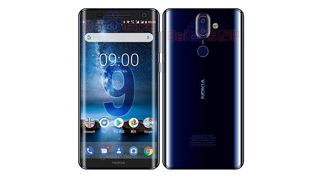 Nokia 9 va fi prezentat oficial în luna ianuarie 2018 în China