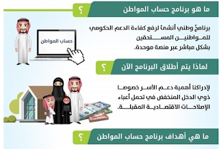 حصريا طريقة التسجيل في برنامج حساب المواطن السعودي 1438 رابط تسجيل حساب المواطن السعودي 2017 موعد التقديم في برنامج المواطن لدعم ذوي الدخل المنخفض والمتوسط