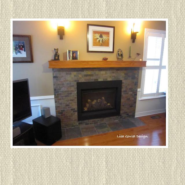 Raised Hearth Fireplace Designs: Lisa Goulet Design