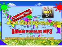 Download kumpulan lagu-lagu daerah nusantara pilihan format MP3