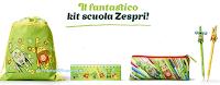 Logo Con Zespri vinci gratis 90 Kit per la scuola