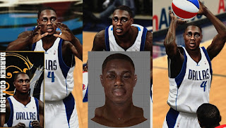 NBA 2K13 Darren Collison CyberFace Mod