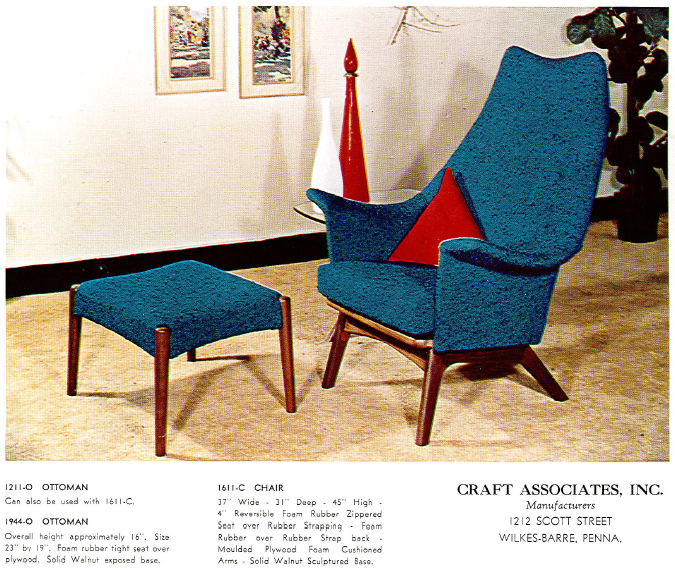 Mad for MidCentury Adrian Pearsall Catalog