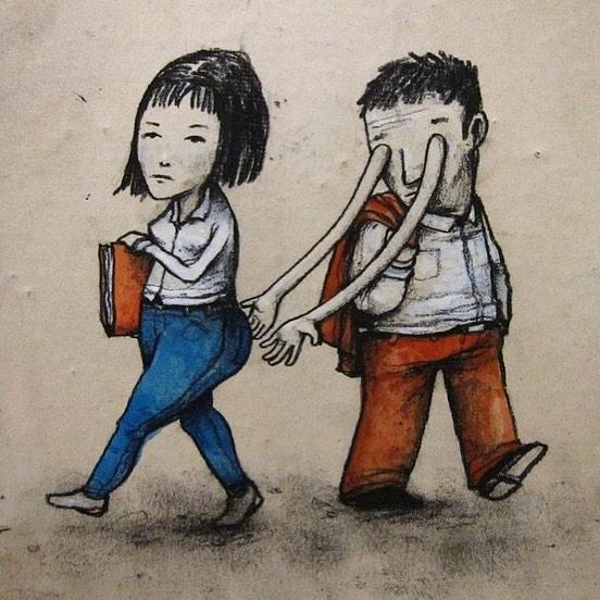 ilustraciones-sarcásticas-artista-Dran-el-banksy-frances-street-art