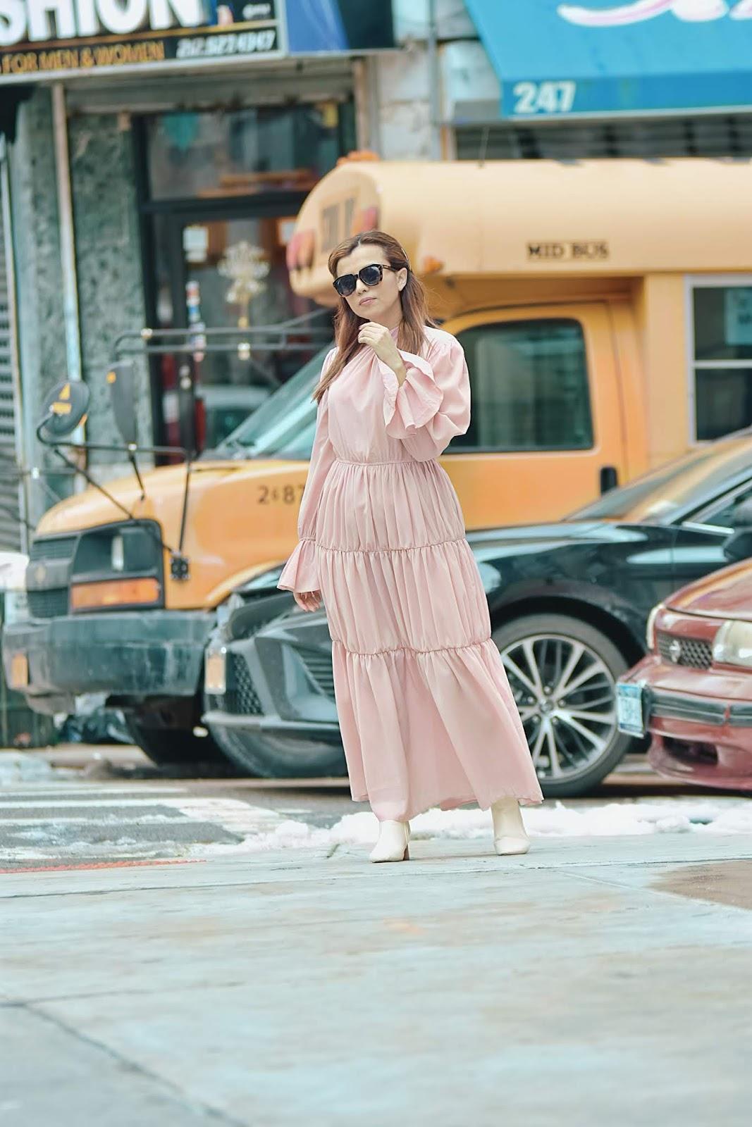 Romantic Vintage Dress by Mari Estilo-FashionBlogger-nyfw-nyfwstreetstyle-dcblogger-marisolflamenco-modaelsalvador-shein-