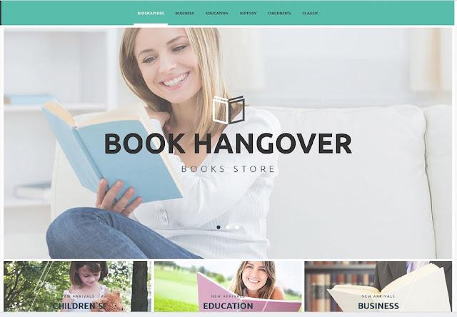 book hangover шаблон для prestashop